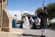 McLaren Vale wedding, church wedding, piper for hire