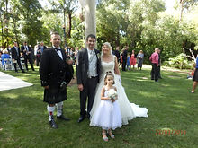 wedding Adelaide zoo, bagpipes Adelaide, bagpipes for hire