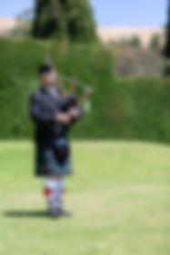 wedding piper, garden wedding Adelaide, bagpipes,