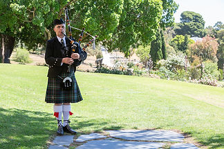 Carrick Hill wedding | bagpipes for hire