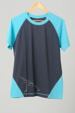 raglan masculina azul/cinza silk