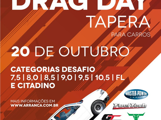 2º DRAG DAY TAPERA 2019