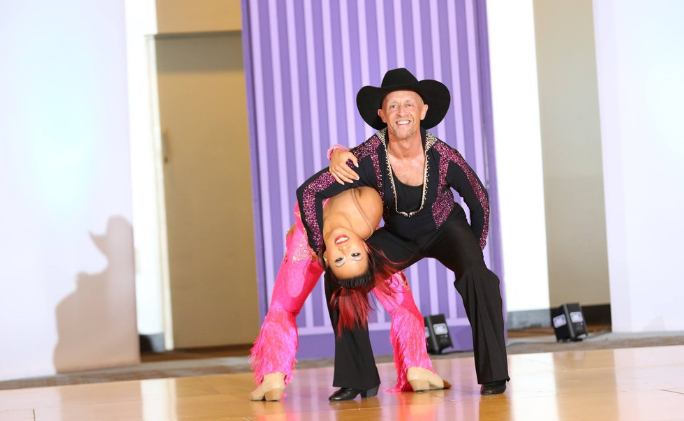 Christy Kam and Clive Stevens