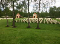Canadian War Cemetery in Holten