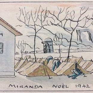 Spanish concentration camp Miranda de Ebro