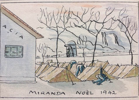 Spanish concentration camp Miranda de Ebro