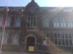 Wilhelmina School, voormalige technische opleiding van Stork Hengelo