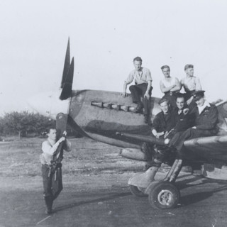 The 322 squadron in operation