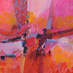 Thunderbird- Desert Sunset
