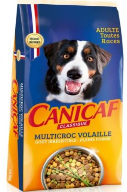 Canicaf adulte multicroc volaille14kg (ref : x76677)