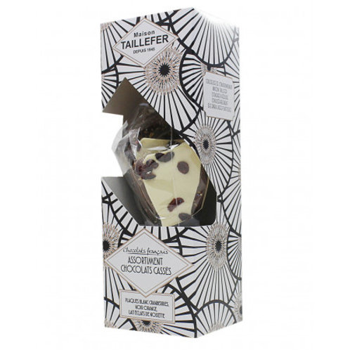 Chocolat cassé max.315g cornet (ref : t00412)