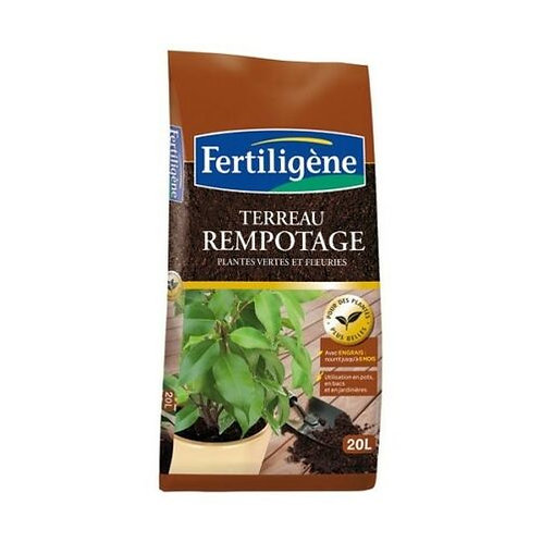 Terreau rempotage 20l Fertiligène (ref : 451095)