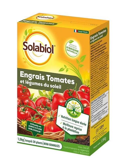 Engrais tomates et legumes fruits 1.5 kg solabiol (ref : w78847)