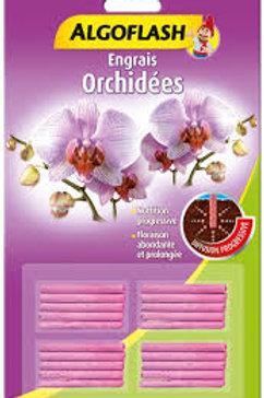 Bâtonnets engrais orchidées 20 bâtonnets algoflash (Ref : W83712)