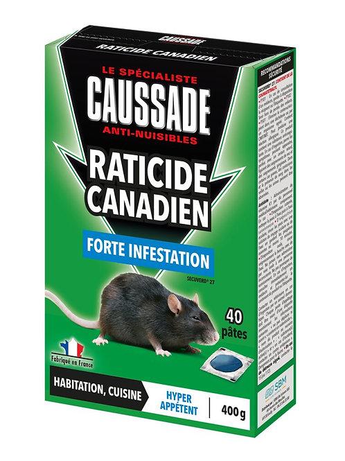 Raticide canadien pate 400g caussade (ref : x85695)