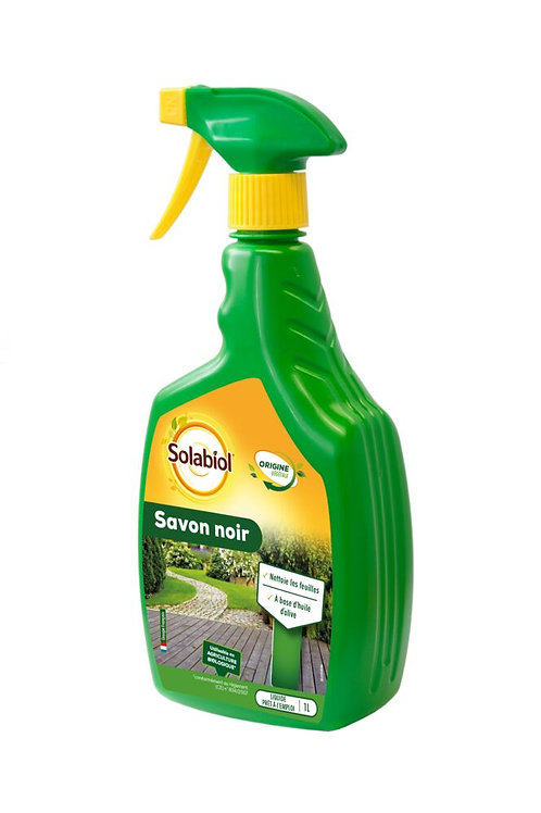 Savon noir spray 1l solabiol (ref : x52332)