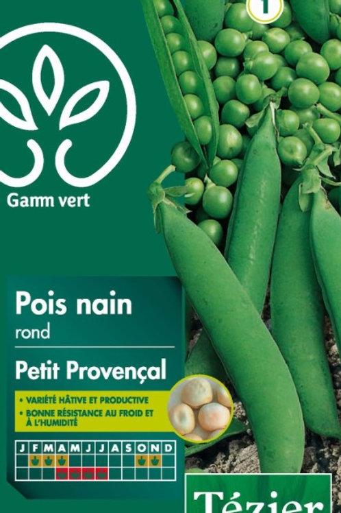 Graine pois petit provencal 200g s.1 Gamm Vert (ref : w36139)