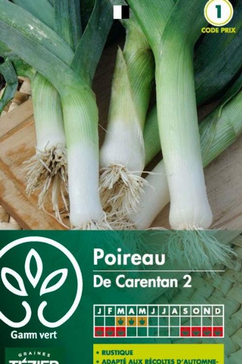 Graine poireau de carentan s.1 Gamm Vert (ref : w36150)