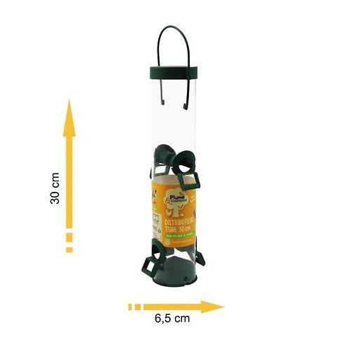 Mangeoire tube graine 30cm (ref : x56657)
