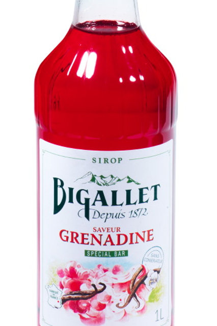Sirop grenadine 1l bigallet (Ref : 697381)