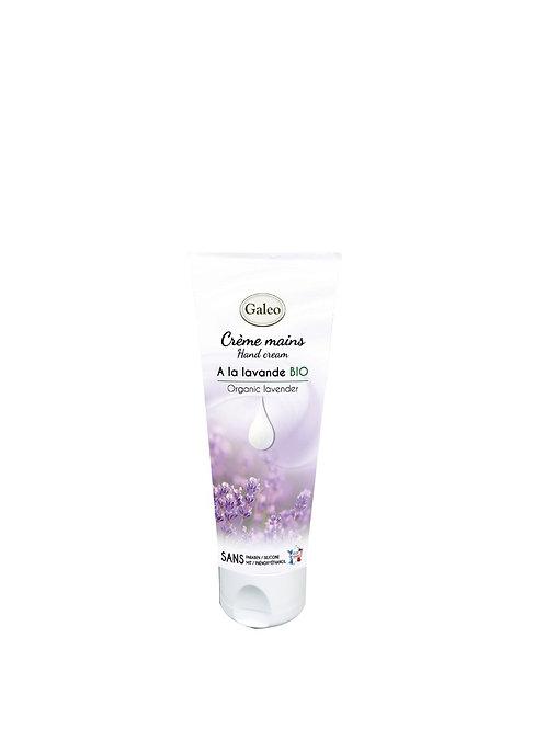 Crème mains 75 ml à la lavande bio. (ref : p06587)