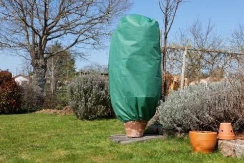Lot 3 housses hivernage vert avec zip (ref : w29637)