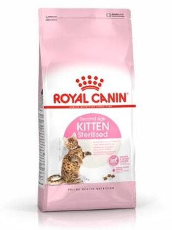 Royal canin chat kitten sterilised.2kg (ref : w29500)