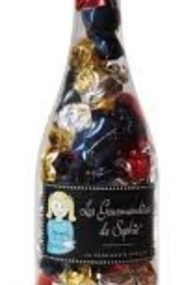 Bouteille papillotes chocolat 440g (ref : t00622)