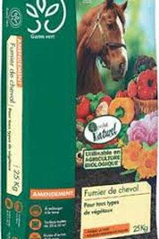 Fumier de cheval (poudre) Gamm Vert 25kg (ref : 477268)
