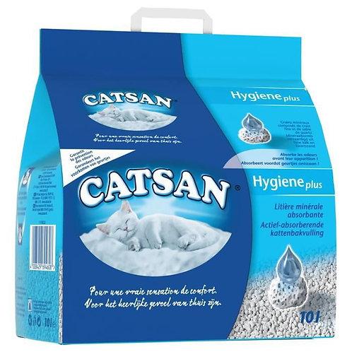 Litière catsan hygiéne+ 10l (ref : w66015)