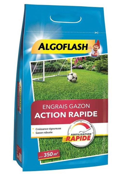 Engrais gazon action rapide 7kg algoflash (Ref : X75138)