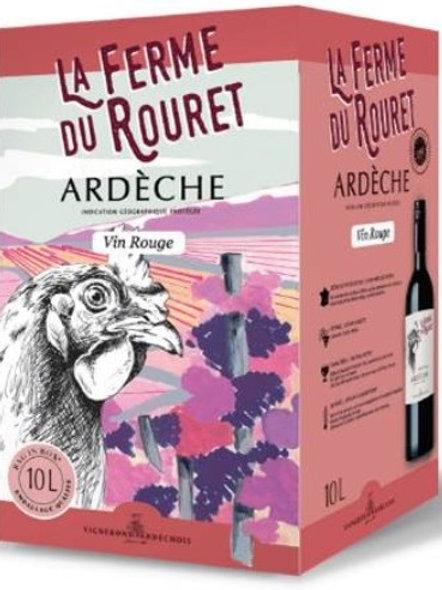 Vin rge coteaux.ardèche.10l (ref : w32488)