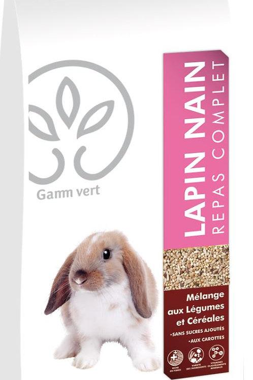 Repas complet lapin nain 1kg Gamm Vert (ref : w64295)