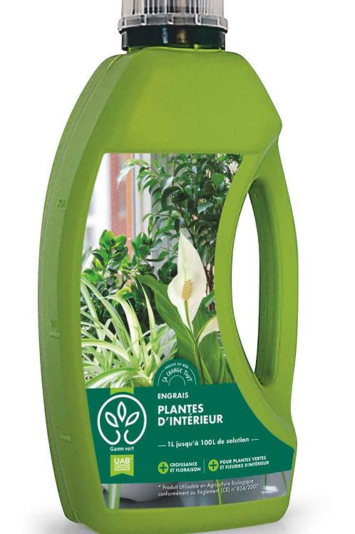 Engrais plantes intérieures 1l Gamm Vert (ref : x82622)