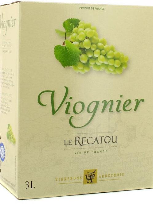 Vin blc viognier 3l (ref : x42445)