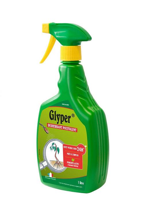 Desherbant polyvalent spray 1l glyper (ref : x88855)