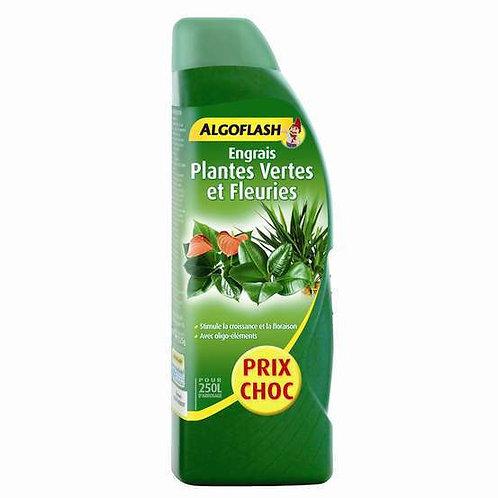 Engrais plantes vertes et plantes fleuries 1l algoflash (Ref : T01808)