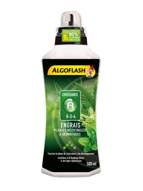 Engrais plantes aromatiques croissance 500ml algoflash (Ref : T01791)