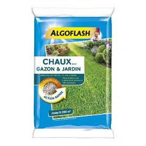 Chaux pour gazon et jardin 10kg algoflash (Ref : X82611)