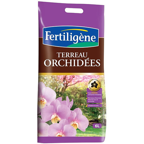 Terreau orchidee 6l fertiligène (ref : w83701)