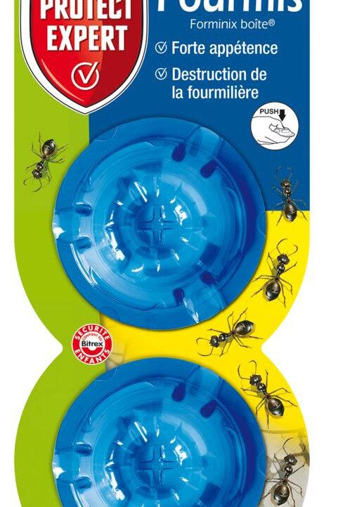 Boites x2 anti fourmis fourmis 2g protect expert (ref : x82788)