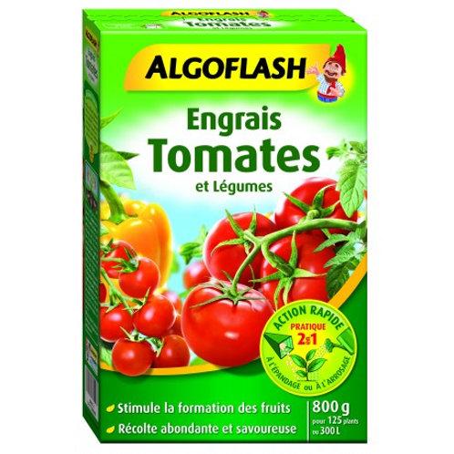 Engrais tomates et légumes action rapide 800g algoflash (Ref : W16831)