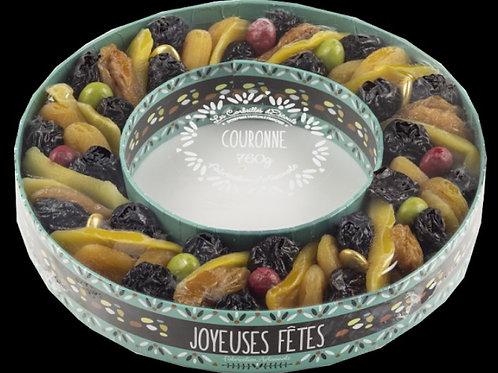 Fruit-sec couronne 760g (ref : y00405)