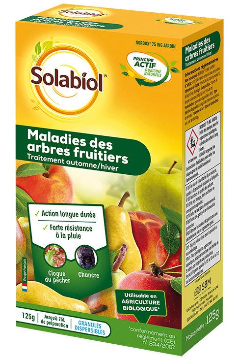 Fongicide maladies des arbres fruitiers 125g solabiol (ref : w72151)