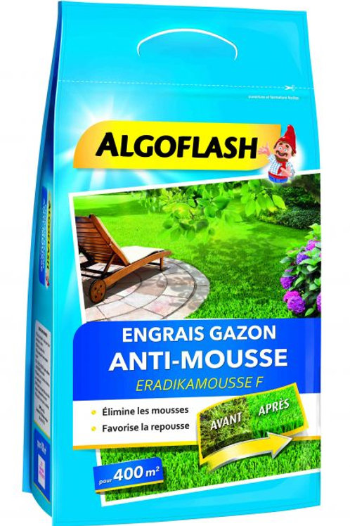 Engrais gazon anti-mousse 12kg algoflash (Ref : X88925)
