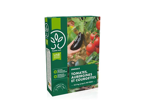 Engrais tomates aubergines courgettes UAB 800g Gamm Vert (ref : x82780)