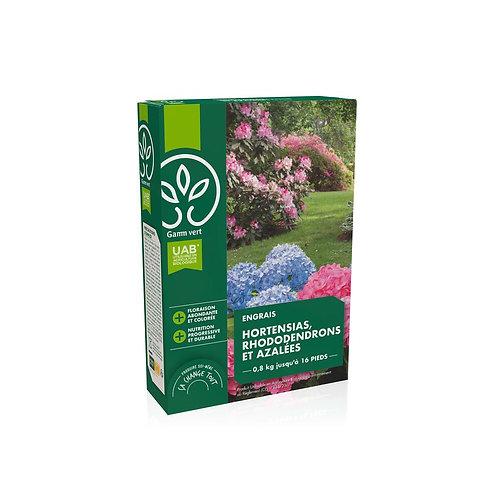 Engrais hortensias rhododendrons UAB 800g Gamm Vert (ref : x82778)