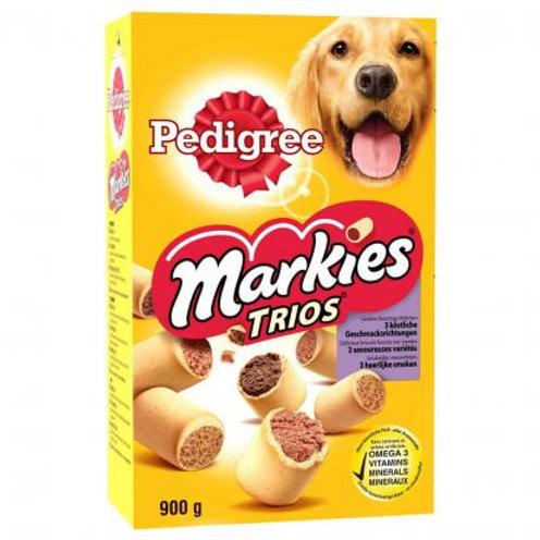 Markies trio 900g pedigree (ref : 467212)