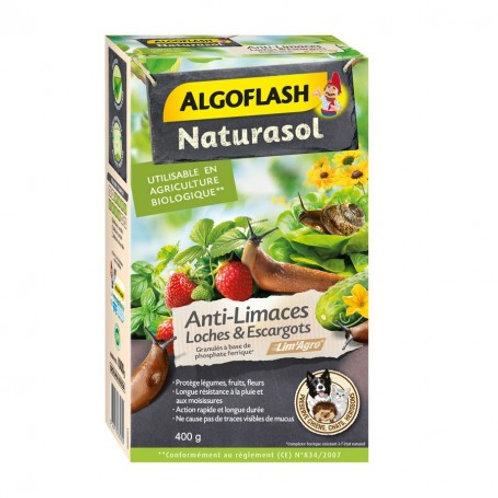 Anti-limaces loches et escargots 400g algoflash (Ref : W78819)