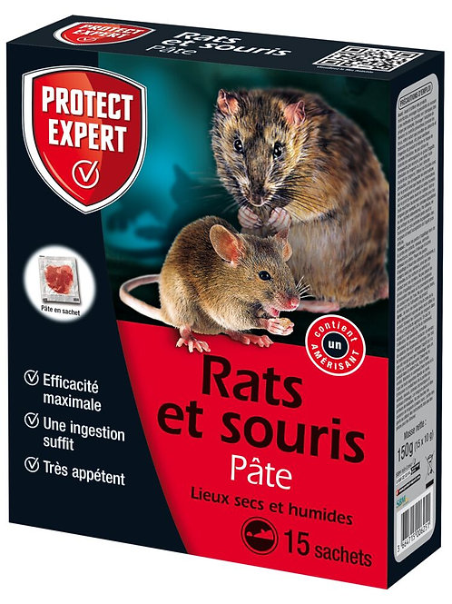 Raticide pate 150g protect expert (ref : x79392)